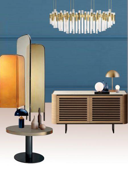 Tendencia decorativa: el lujoso estilo sixties