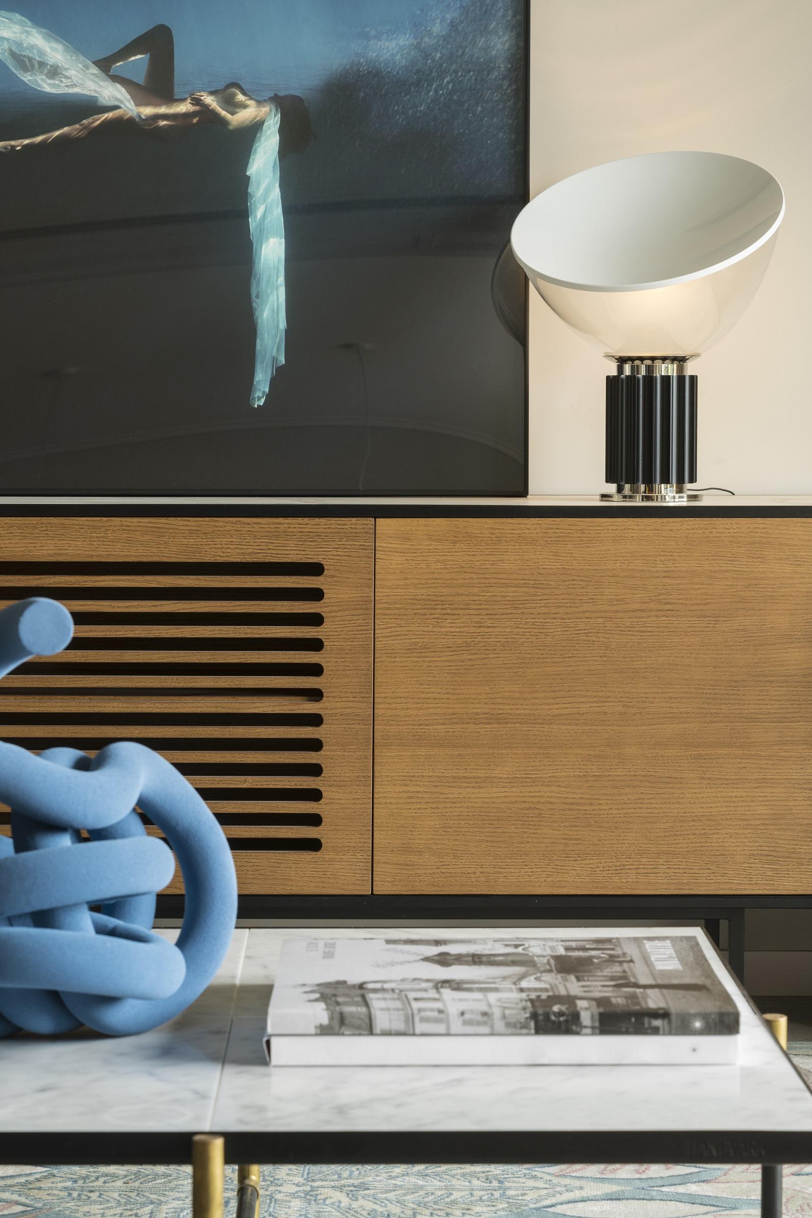 mobiliario de diseño en proyecto de interiorismo
