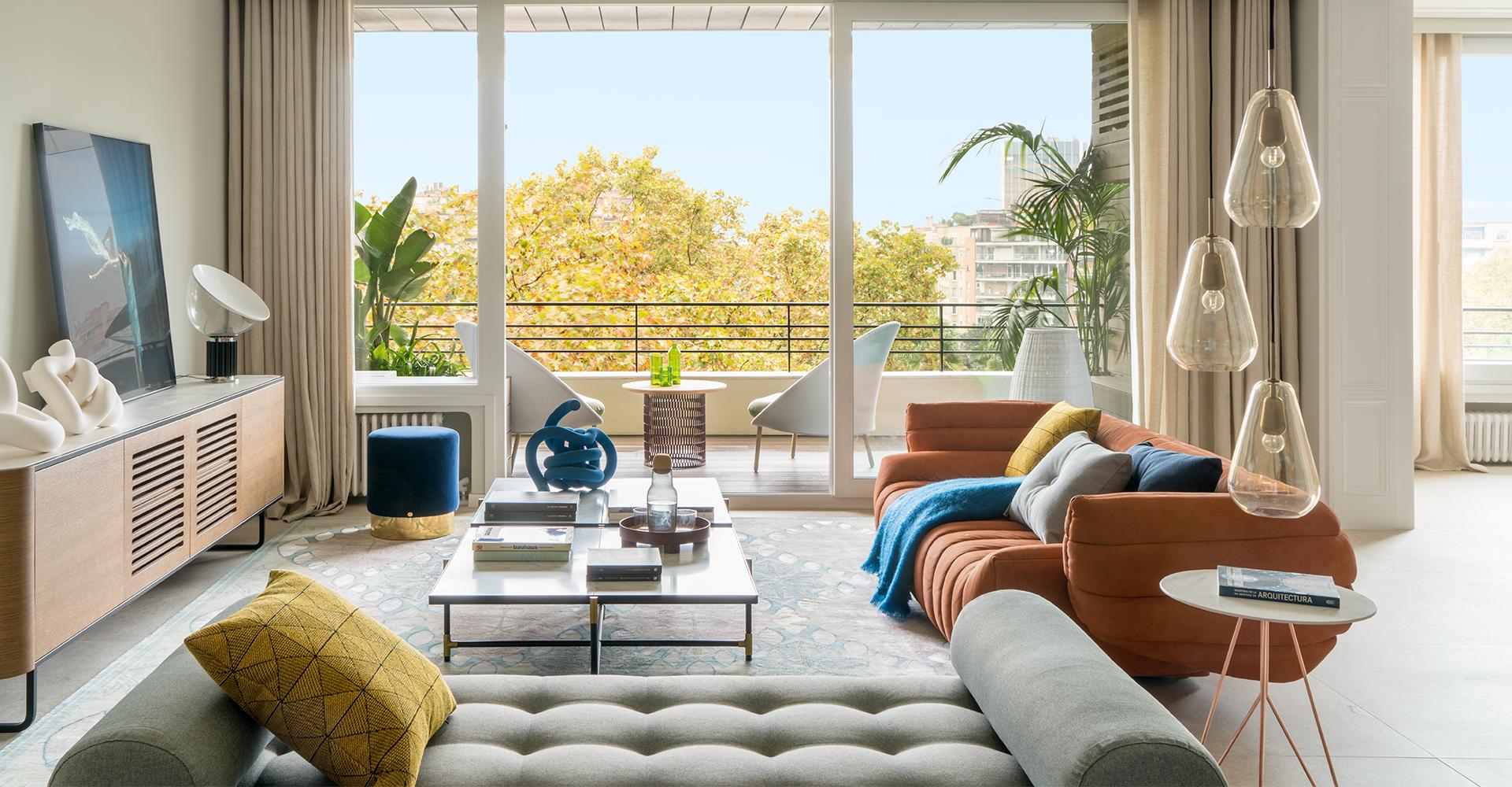 Mobilier design pour salon - The Room Studio & Momocca