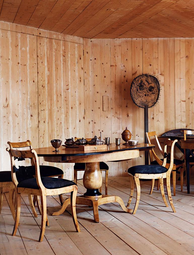 wood hall - Corberó House