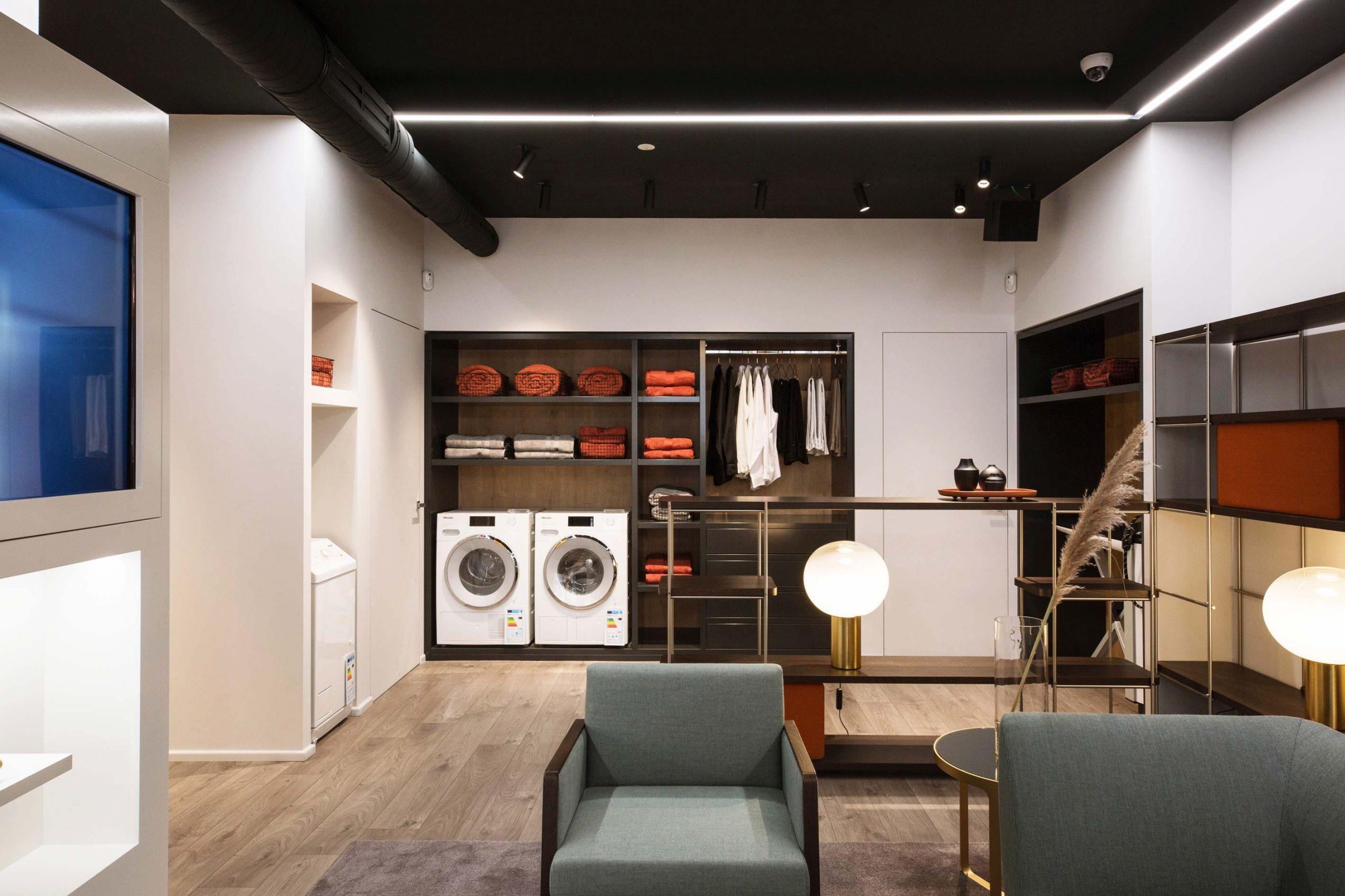 design d'intérieur retail Miele Momocca