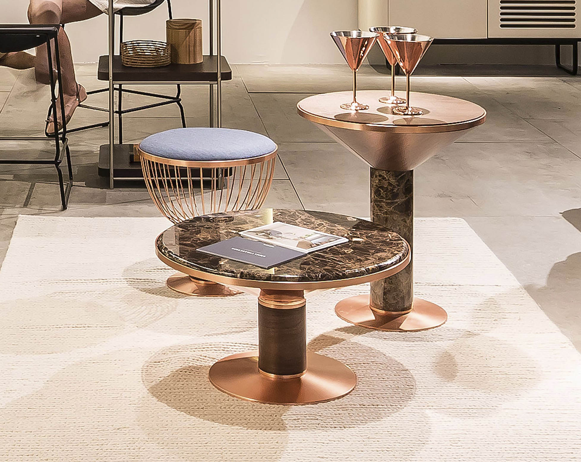 Emma by Momocca coppel side table