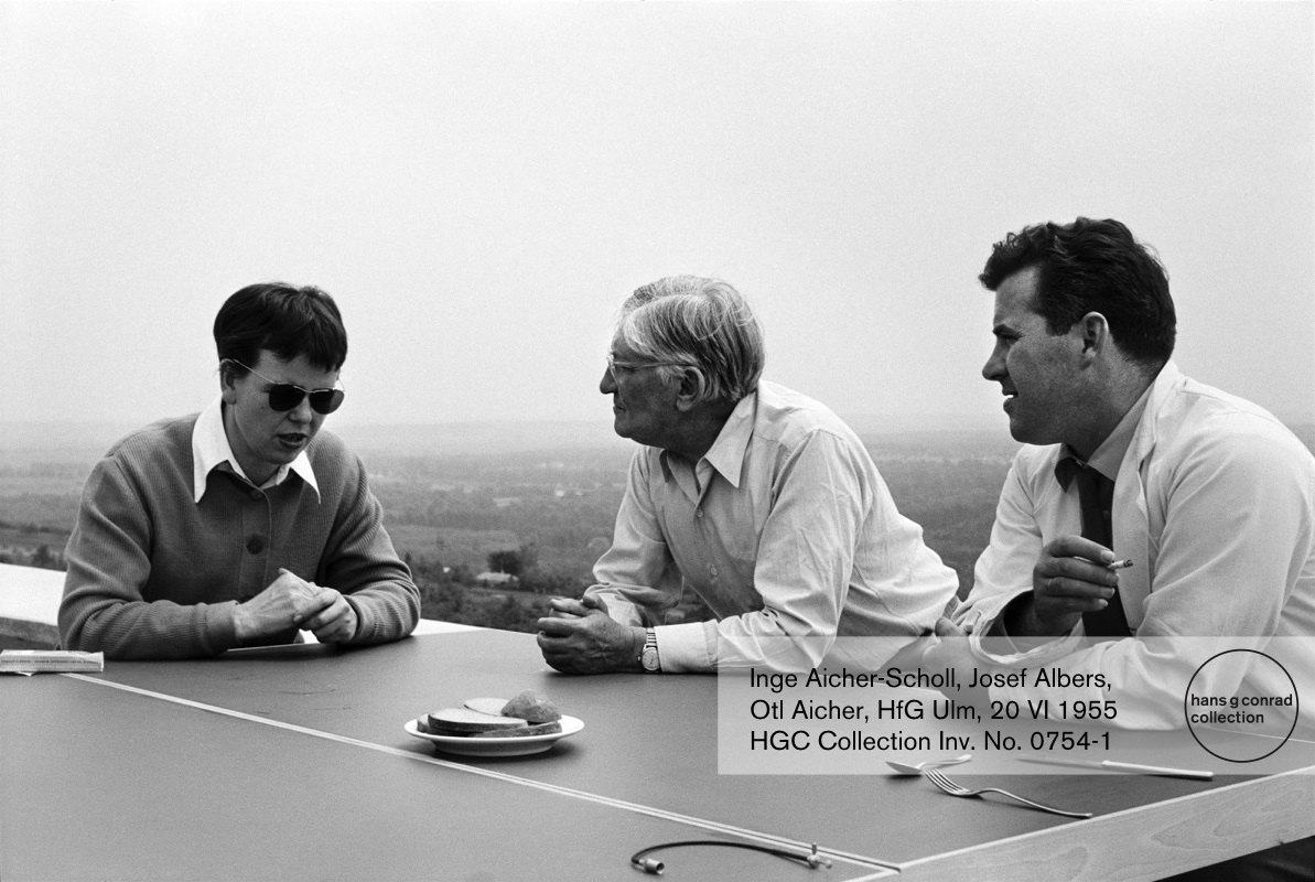 Inge Scholl, Josef Albers, Otl Aicher