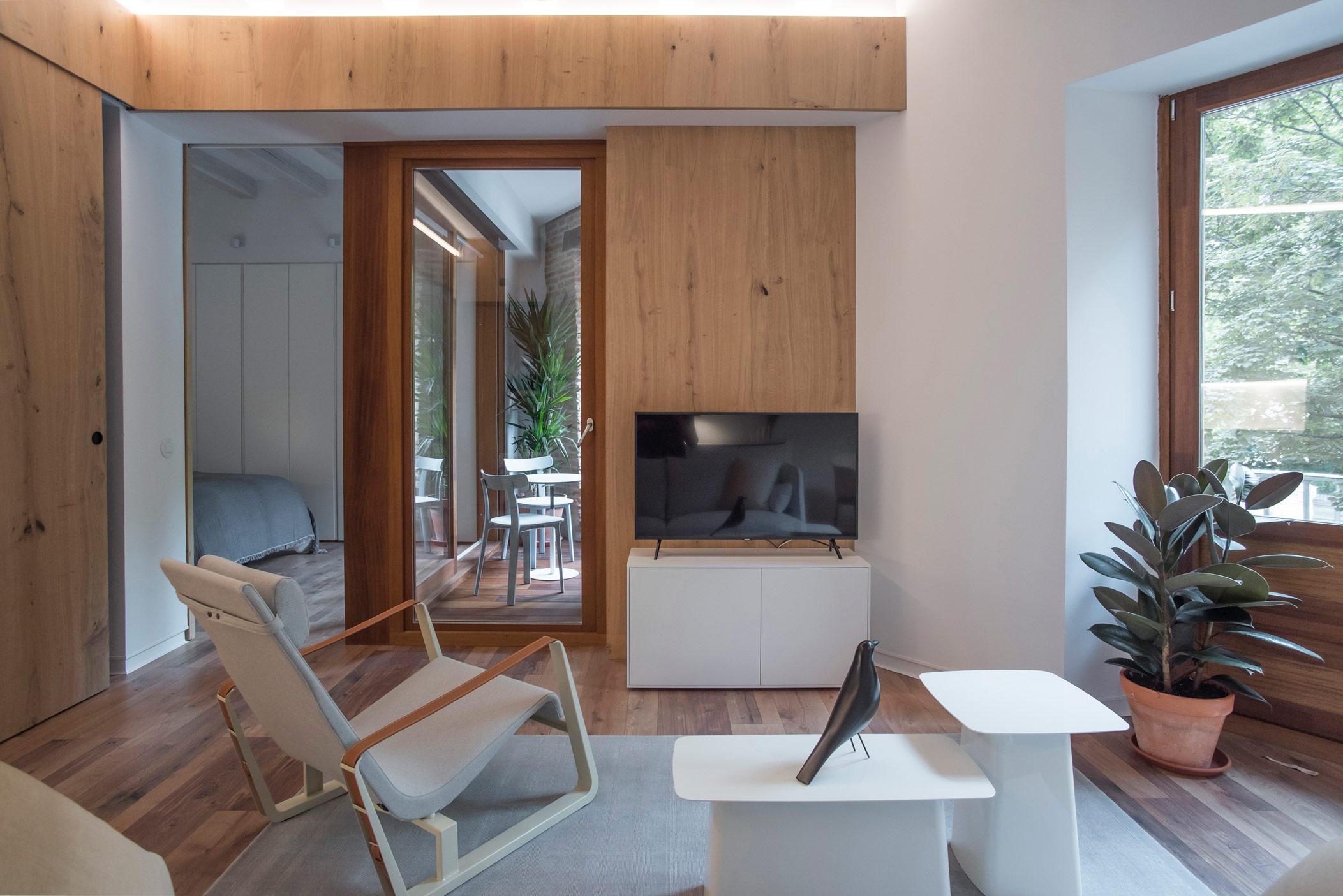 Minimalist interior design Momocca