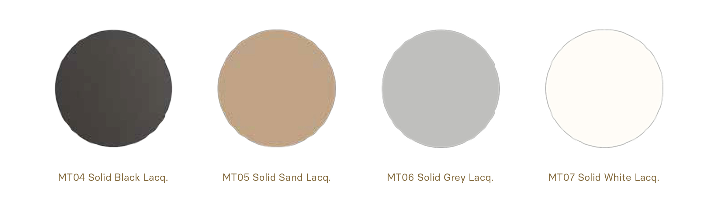 Metal lacquers in soft colours Momocca