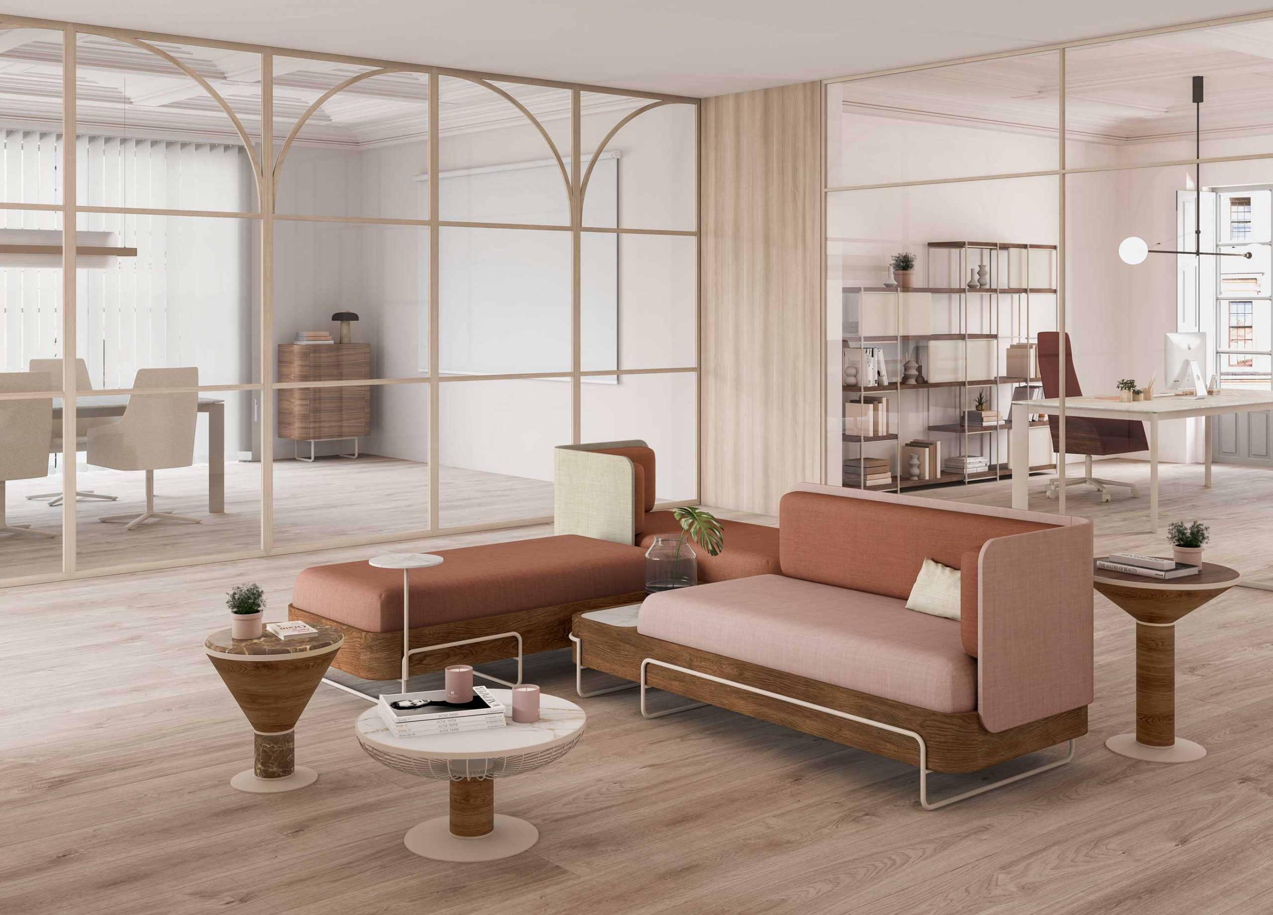 Olga Collection - contract furniture - office - Momocca