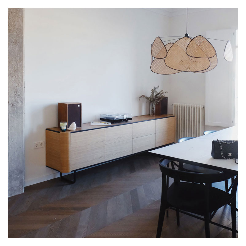 Adara sideboard for bauhaus design decoration