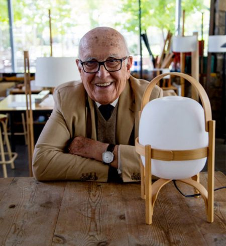 Miguel Milà, a life dedicated to industrial design.