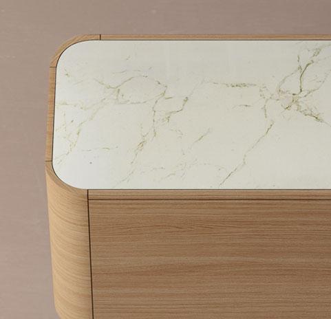Adara aparador perfil madera - wooden profile sideboard