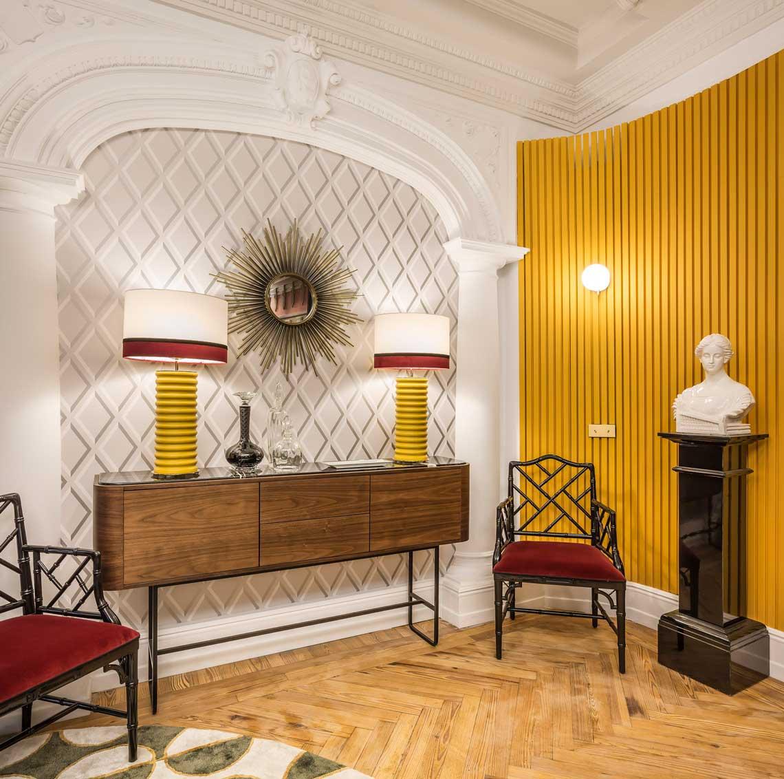 Adara Collection Art Deco interior in Casa Decor 2021