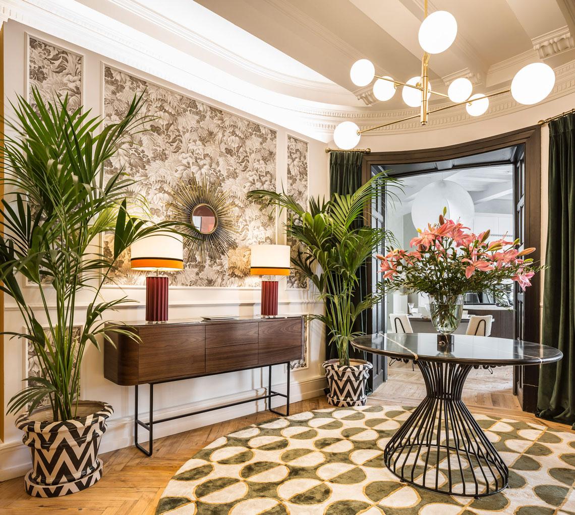 Momocca inspiración Gran Gatsby Casa Decor 2021