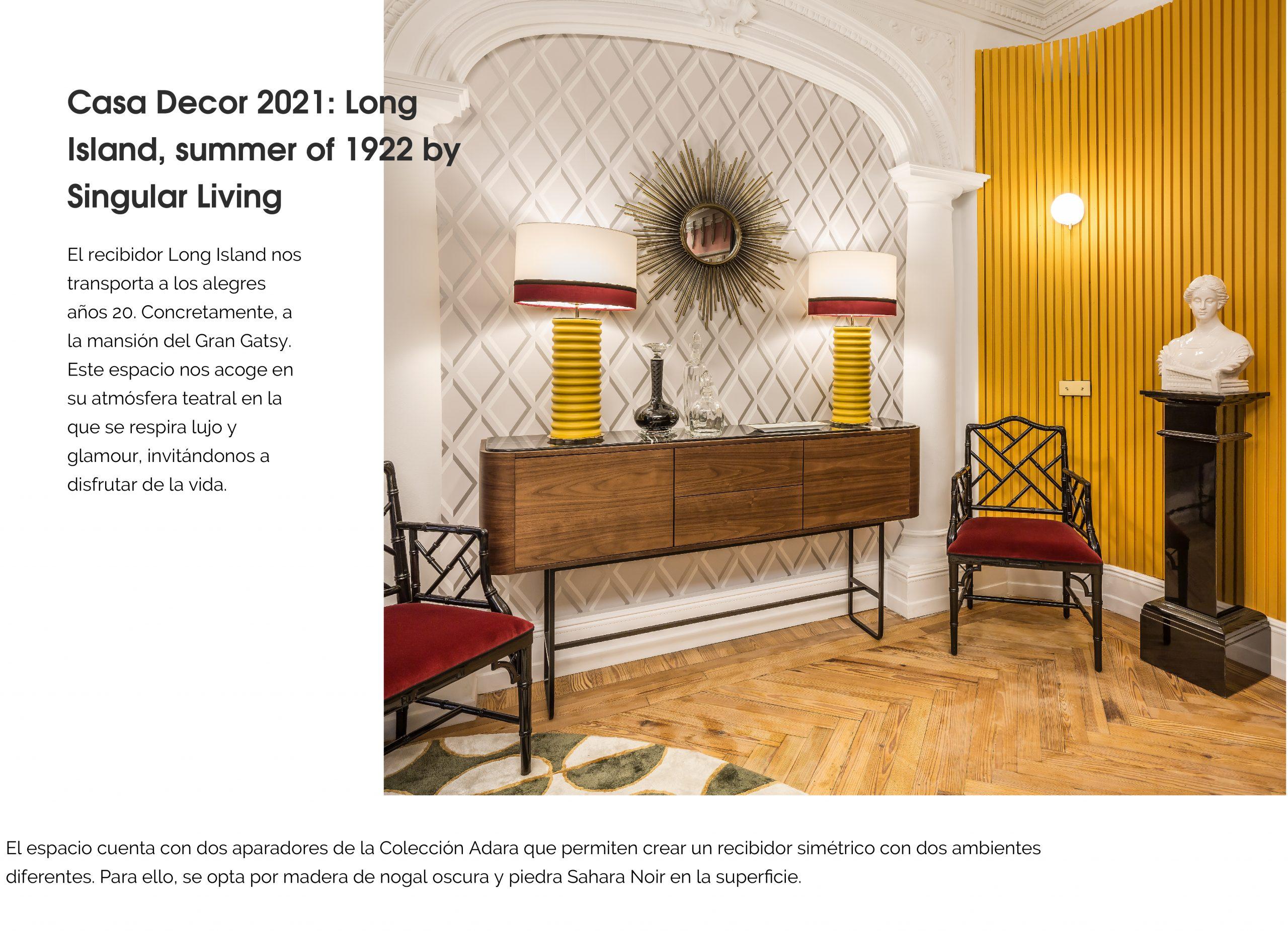 Casa Decor 2021 Momocca Singular Living