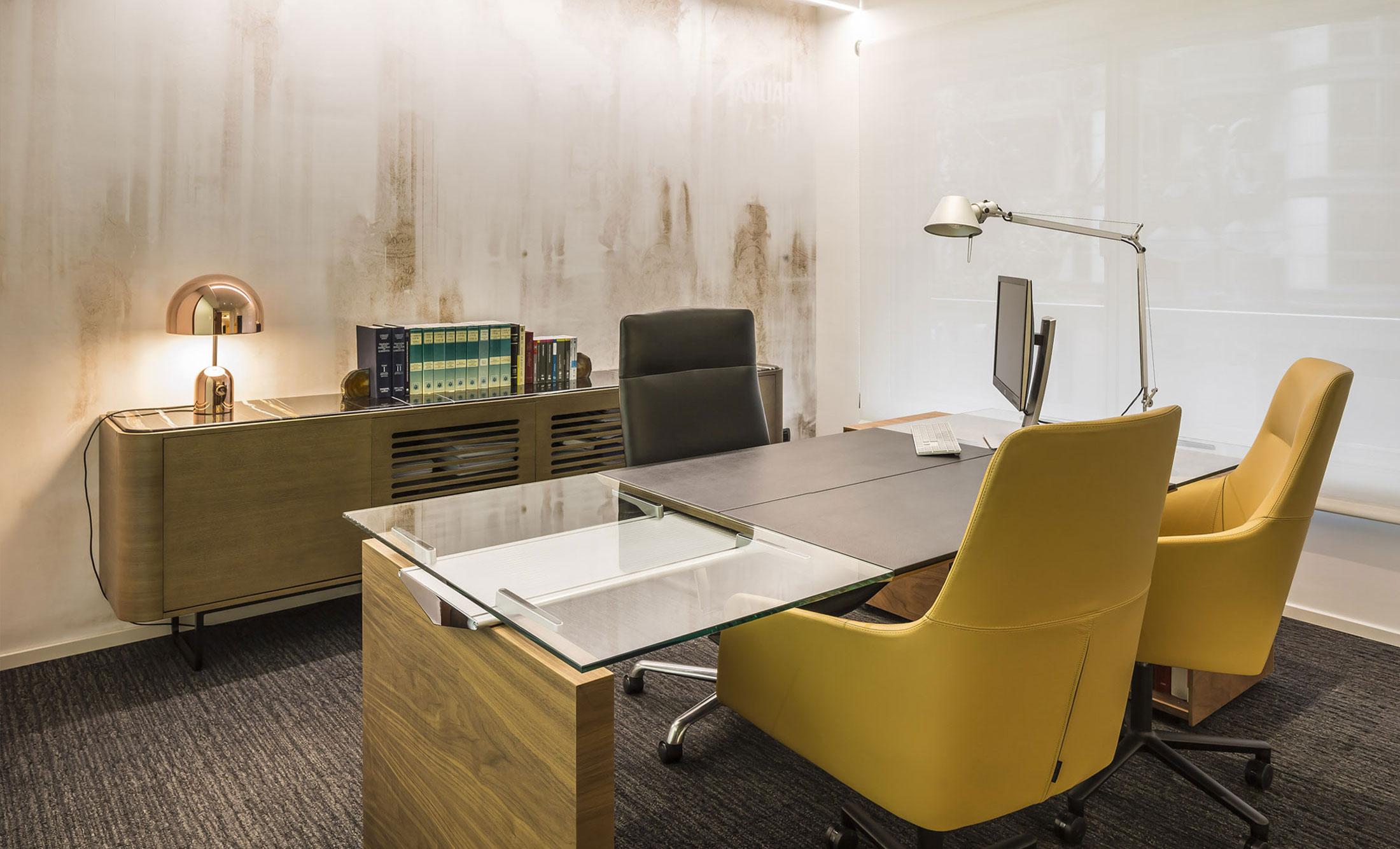 design d'intérieur dans un cabinet d'avocats - Momocca & Xavier Lledo